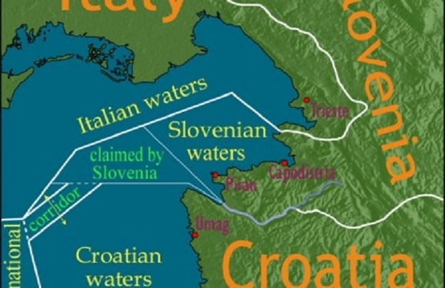 At Sea: A Decades-Long Maritime Border Dispute Between Croatia and Slovenia